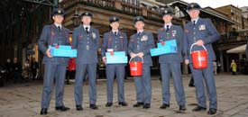 Poppy Appeal in Covent Garden, November 2012
