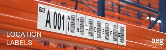 Warehouse Location Labels